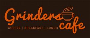 Grinders Cafe_Logo (Brown Background)