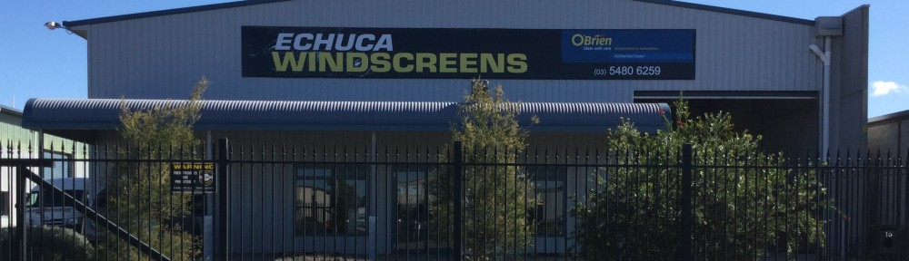 Echuca Windscreens logo