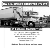 Hornes Transport logo